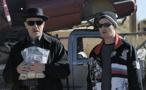 Bryan Cranston and Aaron Paul in 'Breaking Bad' — Photo courtesy of AMC