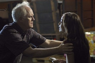 John Lithgow and Courtney Ford in 'Dexter' — Photo courtesy of Randy Tepper / Showtime