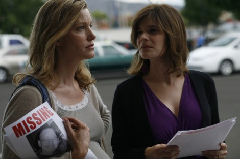 Anna Gunn and Betsy Brandt in 'Breaking Bad' — Photo courtesy of AMC