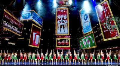 The Rockettes star in the Radio City Christmas Spectacular. Photo from 2011 courtesy of Gene Schiavone.