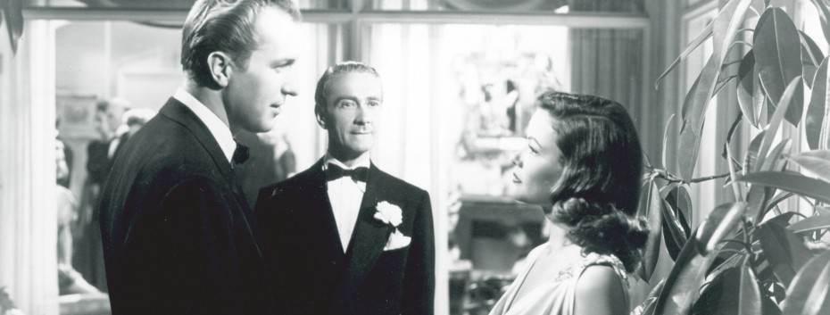 Vincent Price, Clifton Webb and Gene Tierney in 'Laura' -- Photo courtesy of Photofest