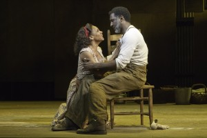 Audra McDonald and Norm Lewis in 'The Gershwin's Porgy and Bess' — Photo courtesy of Michael J. Lutch