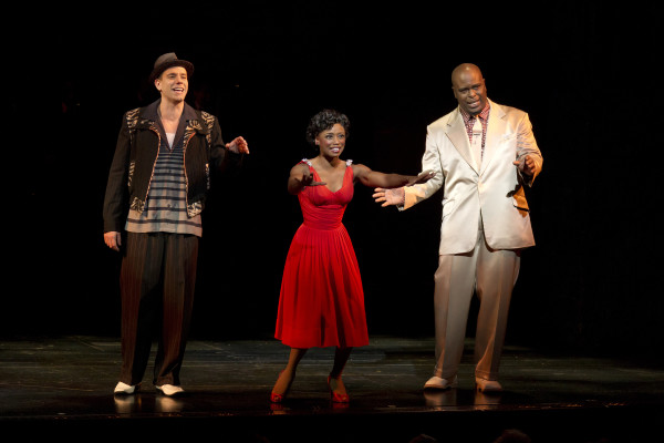 The cast of Memphis featured Montego Glover in a Tony-nominated performances. Photo courtesy of Joan Marcus