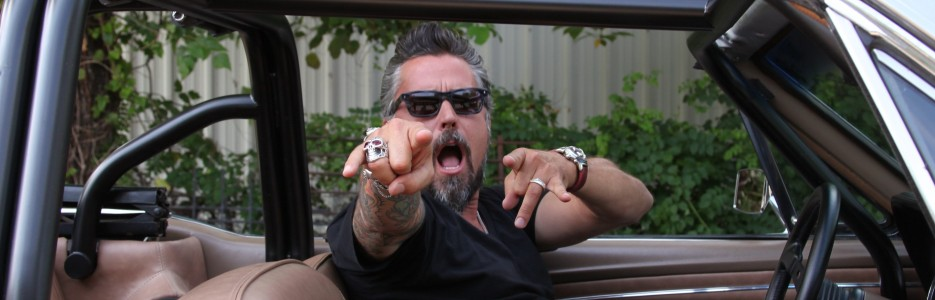 Owner Richard Rawlings at Gas Monkey Garage.