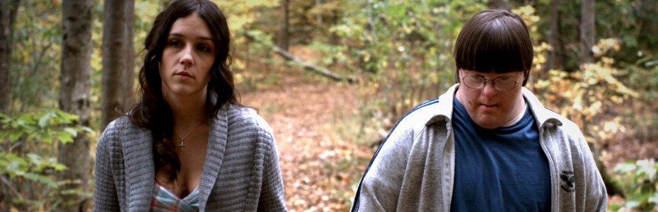 Shannon Woodward and Evan Sneider in 'Girlfriend' — Photo courtesy of Strand Releasing