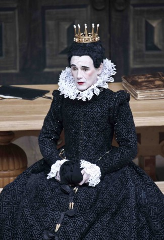 Mark Rylance as Olivia in Shakespeare's Globe's production of 'Twelfth Night' — Photo courtesy of Simon Annand