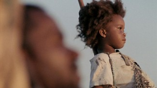 Quvenzhané Wallis in 'Beasts of the Southern Wild' — Photo courtesy of Jess Pinkham
