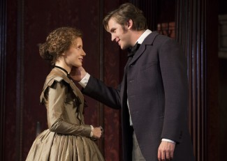 Jessica Chastain and Dan Stevens star in Broadway's 'The Heiress' — Photo courtesy of Joan Marcus