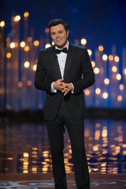 Host Seth MacFarlane, creator of 'Family Guy' and director of 'Ted' — Photo courtesy of Michael Yada / AMPAS