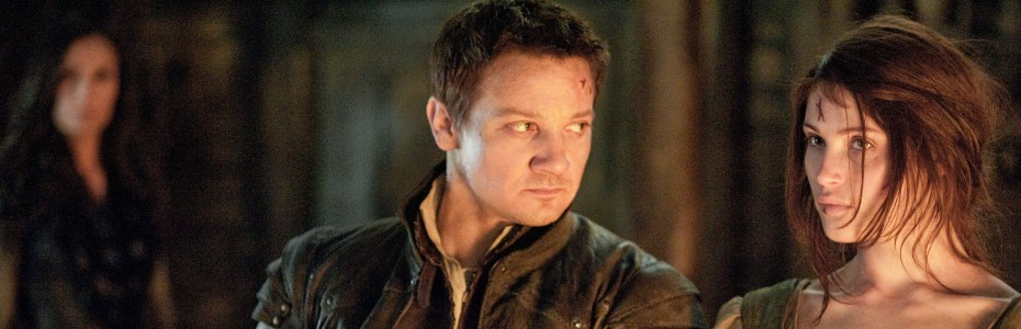Jeremy Renner and Gemma Arterton in &#039;Hansel &amp; Gretel: Witch Hunters&#039; — Photo courtesy of Paramount Pictures