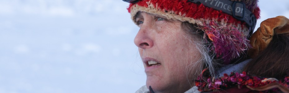 Sue Aikens in the northern reaches of Alaska — Photo courtesy of 2012 BBC Worldwide Ltd. &quot;All Rights Reserved&quot;