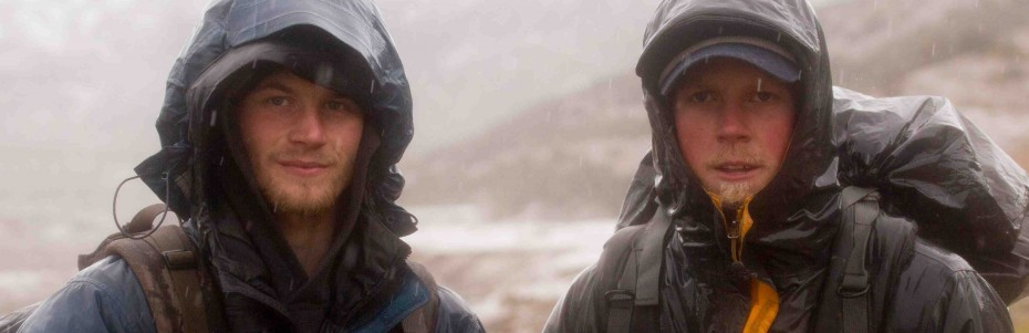 Dallas and Tyrell Seavey of &#039;Ultimate Survival Alaska&#039;  Photo courtesy of National Geographic Channels / Stewart Volland