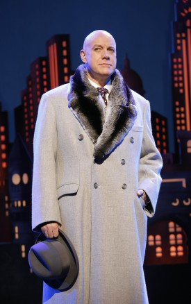 Anthony Warlow as Oliver Warbucks in the new Broadway production of 'Annie' — Photo courtesy of Joan Marcus