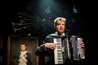 David Abeles in 'Natasha, Pierre, and the Great Comet of 1812' — Photo courtesy of Chad Batka
