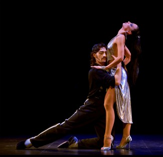 Juan Paulo Horvath and Victoria Galoto in 'Forever Tango' — Photo courtesy of O&M