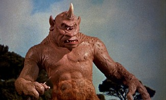 The cyclops in Nathan Juran's 'The 7th Voyage of Sinbad' — Photo courtesy of Film Forum