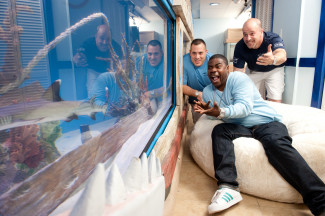 Interview tanked team goes hollywood in new season for Morgans fish house
