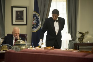 Robin Williams and Forest Whitaker star in 'Lee Daniels' The Butler' — Photo courtesy of The Weinstein Company