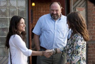 Julia Louis-Dreyfus, James Gandolfini and Catherine Keener star in 'Enough Said' — Photo courtesy of Fox Searchlight