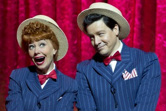 Sirena Irwin and Bill Mendieta as Lucy and Ricky in 'I Love Lucy: Live on Stage' — Photo courtesy of Jeremy Daniel