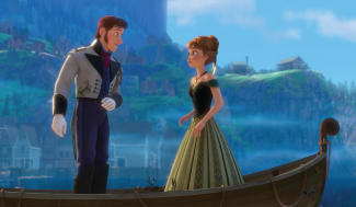 'Frozen' (left to right) Hans and Anna. ©2013 Disney. All Rights Reserved.