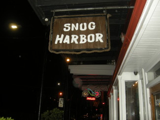 Snug Harbor is located on Frenchmen Street in New Orleans — Photo by John Soltes