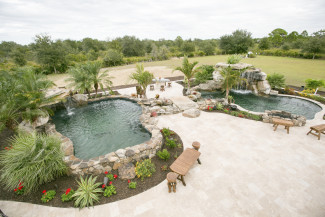 Interview jump in with designer behind animal planet s for Pool show animal planet