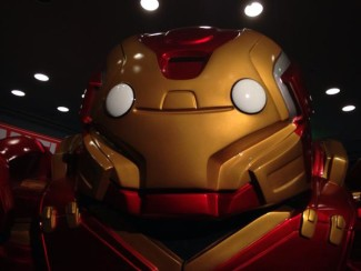 The Avengers were present at the Marvel Collectors Corps booth. Photo by John Soltes.