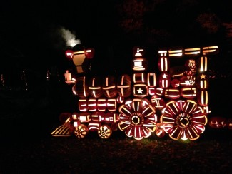 Historic Hudson Valley brings The Great Jack O'Lantern Blaze to life every year. Photo by John Soltes.