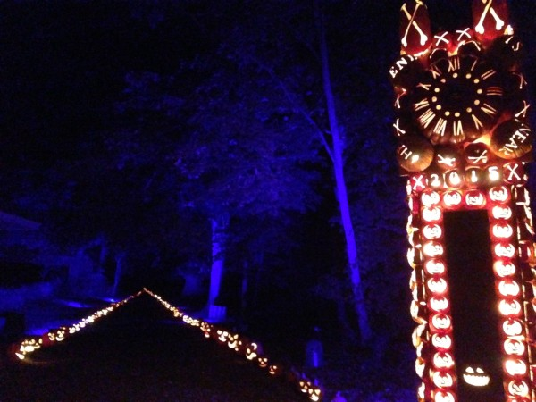 The Great Jack O'Lantern Blaze, featuring this scene from The Legend of Sleepy Hollow, runs through Nov. 15. Photo by John Soltes.