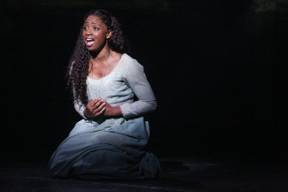 Montego Glover stars as Fantine in Broadway's Les Misérables. Photo courtesy of The Publicity Office.