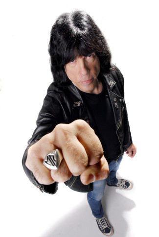 Marky Ramone has released his new memoir, Punk Rock Blitzkrieg. Photo courtesy of Marky Bonetto.