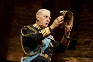 Tim Pigott-Smith plays the title character in King Charles III. Photo courtesy of Joan Marcus.