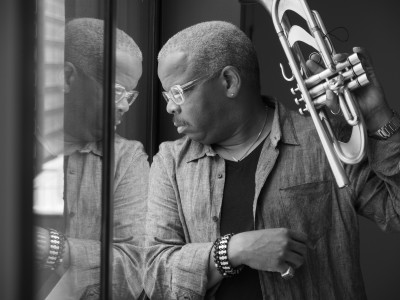Terence Blanchard will bring his E-Collective to the Blue Note in New York City in November. Photo courtesy of Henry Adebonojo.