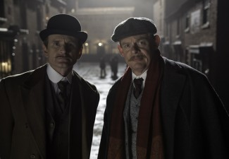 From left, Charles Edwards and Martin Clunes star in Masterpiece: Arthur & George. Photo courtesy of Neil Genower/Buffalo Pictures and Masterpiece for ITV and Masterpiece.