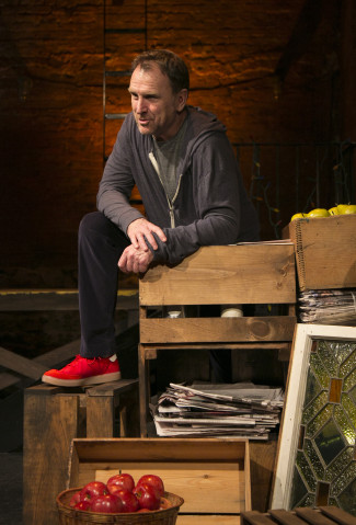 Colin Quinn's new monologue offers commentary on New York City's multicultural roots. Photo courtesy of Mike Lavoie.