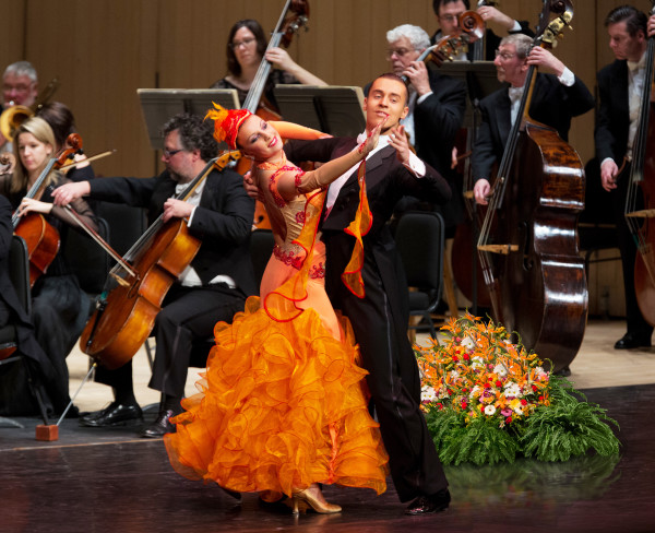 Salute to Vienna features several ballroom dances. The show will play Lincoln Center in New York City and the State Theatre in New Brunswick, N.J. Photo courtesy of Barry Roden.