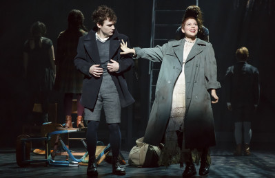 Daniel N. Durant and Krysta Rodriguez star in Deaf West Theatre's production of Spring Awakening, playing on Broadway through Sunday, Jan. 24. Photo courtesy of Joan Marcus.
