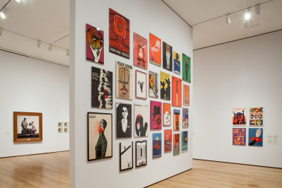 Installation view of Transmissions: Art in Eastern Europe and Latin America, 1960–1980 at The Museum of Modern Art, New York (September 5, 2015–January 3, 2016). Photo by Thomas Griesel. © 2015 The Museum of Modern Art, New York