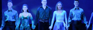 Emma Warren and Bobby Hodges star in Riverdance, which celebrates its 20th anniversary in 2016. Photo courtesy of Jack Hartin.