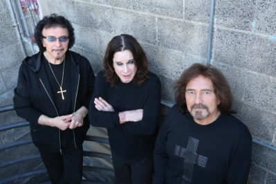 Black Sabbath are in the middle of their year-long final tour. Pictured are Tony Iommi, Ozzy Osbourne and Geezer Butler. Photo courtesy of MSO PR.