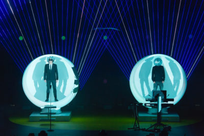 Pet Shops Boys recently played the Theater at Madison Square Garden. Photo courtesy of Ken McKay.