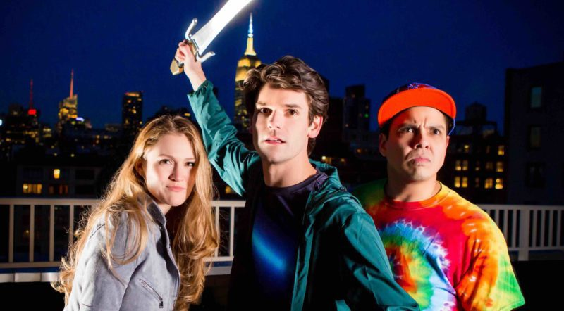 INTERVIEW: Percy Jackson stories fly from page to stage