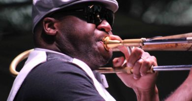 PHOTOS: Big Sam adds some funk to FQF