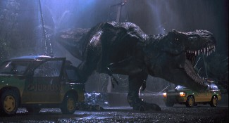 The T-Rex from 'Jurassic Park' — Photo courtesy of Universal City Studios, Inc. & Amblin Entertainment, Inc.