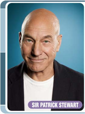 Patrick Stewart of 'Star Trek: The Next Generation' -- Photo courtesy of Creation Entertainment