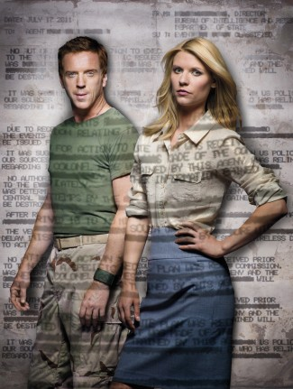Damian Lewis and Claire Danes in 'Homeland' -- Photo courtesy of Showtime