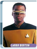 LeVar Burton from 'Star Trek: The Next Generation' -- Photo courtesy of Creation Entertainment