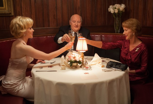 Scarlett Johansson, Anthony Hopkins and Helen Mirren in 'Hitchcock' — Photo courtesy of Suzanne Tenner