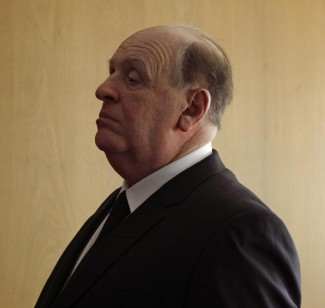 Anthony Hopkins as Alfred Hitchcock, the legendary director of 'Psycho' — Photo courtesy of Suzanne Tenner